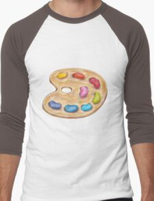 art palette Men's Baseball ¾ T-Shirt