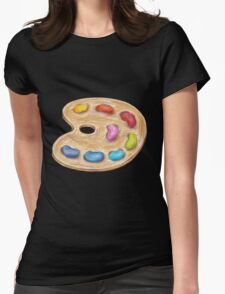 art palette Womens Fitted T-Shirt