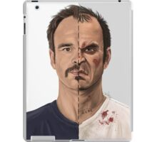 The thin line between... iPad Case/Skin