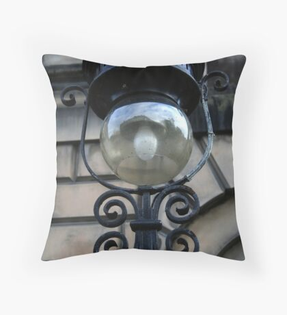 Artificial Light Throw Pillow