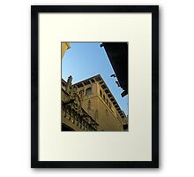 Barcelona - Outside Gothic Cathedral Framed Print