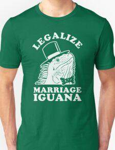 Legalize Marriage Iguana T-Shirt