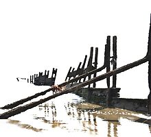 Abstract Groynes by Pete Stone