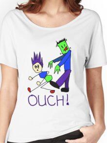Frankenstein's Monster Kicks Butt Women's Relaxed Fit T-Shirt