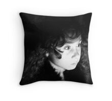 Sheer Suspense... Throw Pillow
