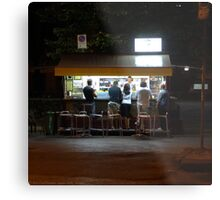 Late Supper - Florence Metal Print