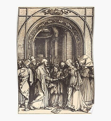 Albrecht Dürer or Durer The Betrothal of the Virgin Poster