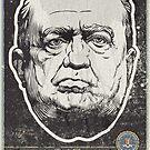 FBI J Edgar Hoover Propaganda Print by LibertyManiacs