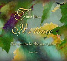the navigator - wisdom saying no. 4 by vigor