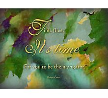 the navigator - wisdom saying no. 4 Photographic Print