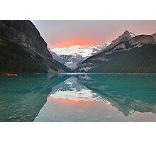 Lake Louise Sunrise Photographic Print