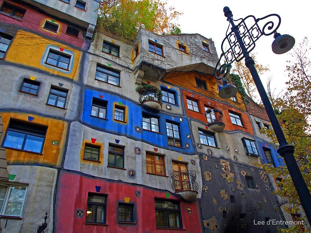Hundertwasserhaus  ( Dr Seuss apartment ) by Lee d'Entremont