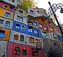 Hundertwasserhaus  ( Dr Seuss apartment ) by Lee d'Entremont