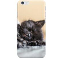 Sleeping kitty iPhone Case/Skin
