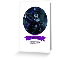 League Of Legends - Leblanc Greeting Card