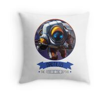 League Of Legends - Nautilus Throw Pillow