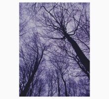 Branches Purple Baby Tee
