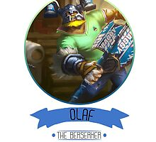 League Of Legends - Olaf by BigDuo Store