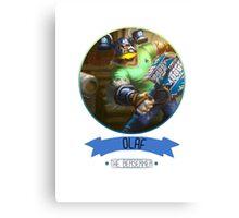 League Of Legends - Olaf Canvas Print