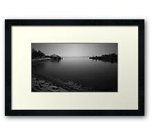 Lynn and the Ocean Framed Print