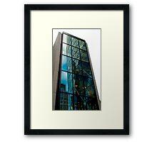 Sliced Gherkin Framed Print