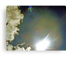 skyscape sun Canvas Print