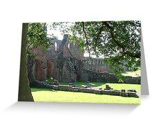 Furness Abbey, Cumbria.  Greeting Card