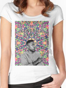 kendrick lamar #8 Women's Fitted Scoop T-Shirt