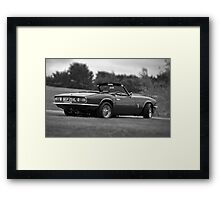 Triumph Spitfire Framed Print