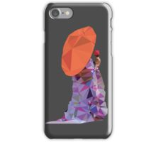 Umbrella Girl in Kimono iPhone Case/Skin