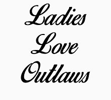 Ladies Love Outlaws Womens Fitted T-Shirt