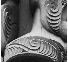 Maori Carving by J M Markman Photography