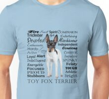 Toy Fox Terrier Traits Unisex T-Shirt