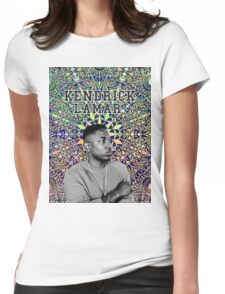 kendrick lamar #9 Womens Fitted T-Shirt