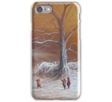 Yuletide (A Wizard Bearing Gifts) iPhone Case/Skin