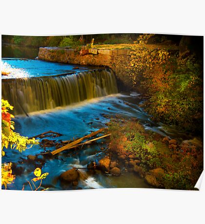 Walpole Town Forest III - Little water fall Poster