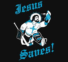Jesus Saves Hockey Team Unisex T-Shirt
