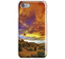 Post Tstorm Clouds 2 iPhone Case/Skin