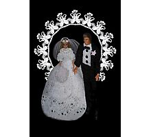 I DO...BRIDE AND GROOM PILLOW,TOTE BAG,TEE SHIRT,JOURNAL,PICTURE,CARD,ECT. Photographic Print