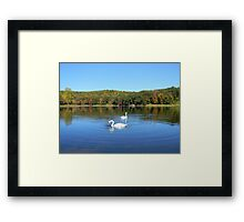 Gorgeous fall day. Framed Print