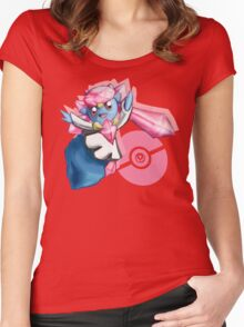 Pokemon Diancie Women's Fitted Scoop T-Shirt