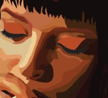 Pulp Fiction - Mia Wallace Sticker