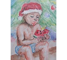Aussie Christmas Photographic Print