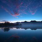 Blue Dawn, Kinloch NZ by Odille Esmonde-Morgan