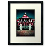 """""""Massachusetts State House"""" - Boston, Massachusetts Framed Print"""