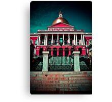 """""""Massachusetts State House"""" - Boston, Massachusetts Canvas Print"""