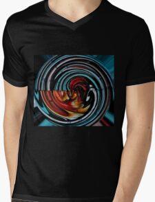 It's down the rabbit hole Mens V-Neck T-Shirt