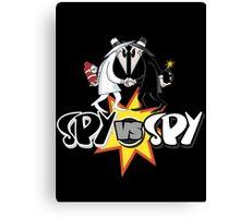 Spy VS Spy Canvas Print