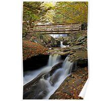 Crossing Kitchen Creek II (Autumn) Poster