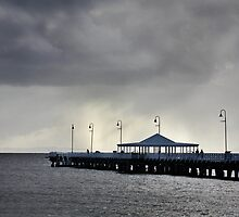 Shorncliffe Pier No 2 by Renate Hottmann-Schaefer